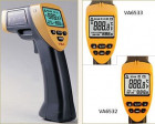 Infrared thermometer with dot laser targeting VA6533, alarming temperature