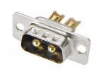 male D-Sub high current 2W2 30A