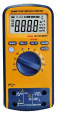 High accuracy multimeter with USB interface VA40R 6000 counts