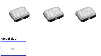 Screw 5pcs 7050 Package SMT Surface Mount Chip Crystal Oscillators 12.288MHZ